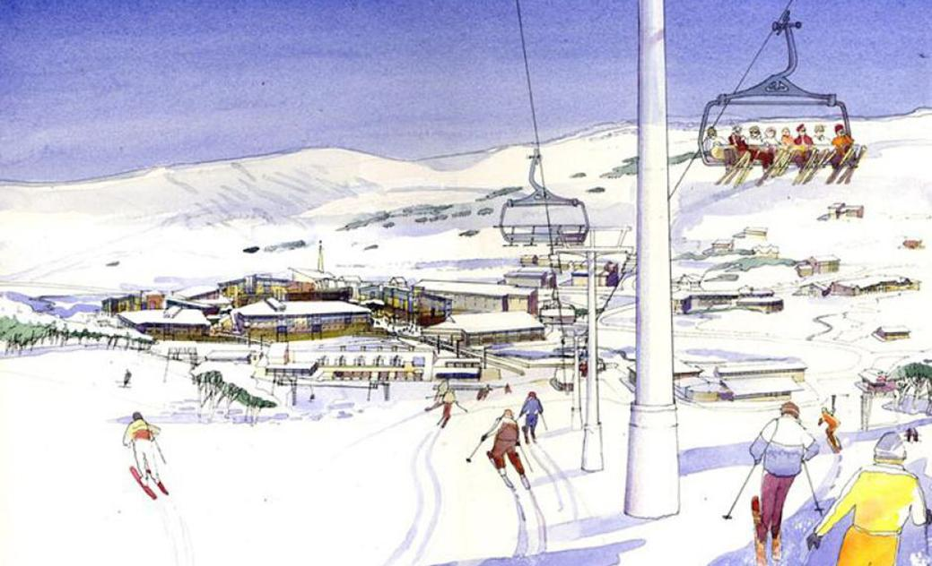 Perisher Village Centre